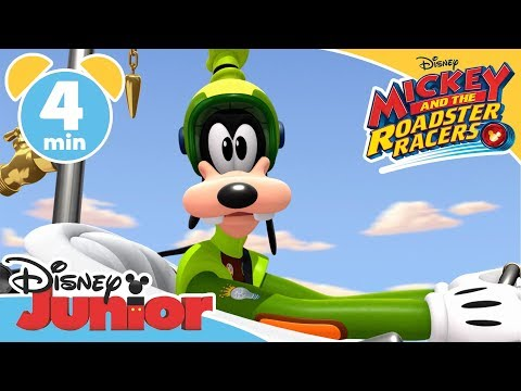 Mickey and the Roadster Racers  Magical Moment: Goofy The Hero  Disney Junior UK