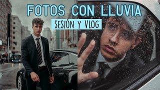 Sesión de fotos LLOVIENDO + REFLEJOS