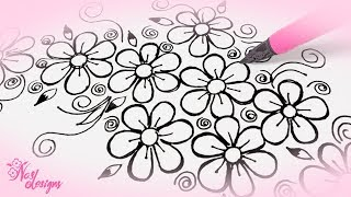 Nas Designs Tutorial 10: Floral Design