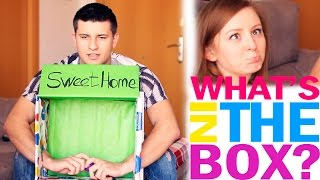 WHAT'S IN THE BOX?  CHALLENGE! |  ЧТО В КОРОБКЕ?  ВЫЗОВ! | SWEET HOME