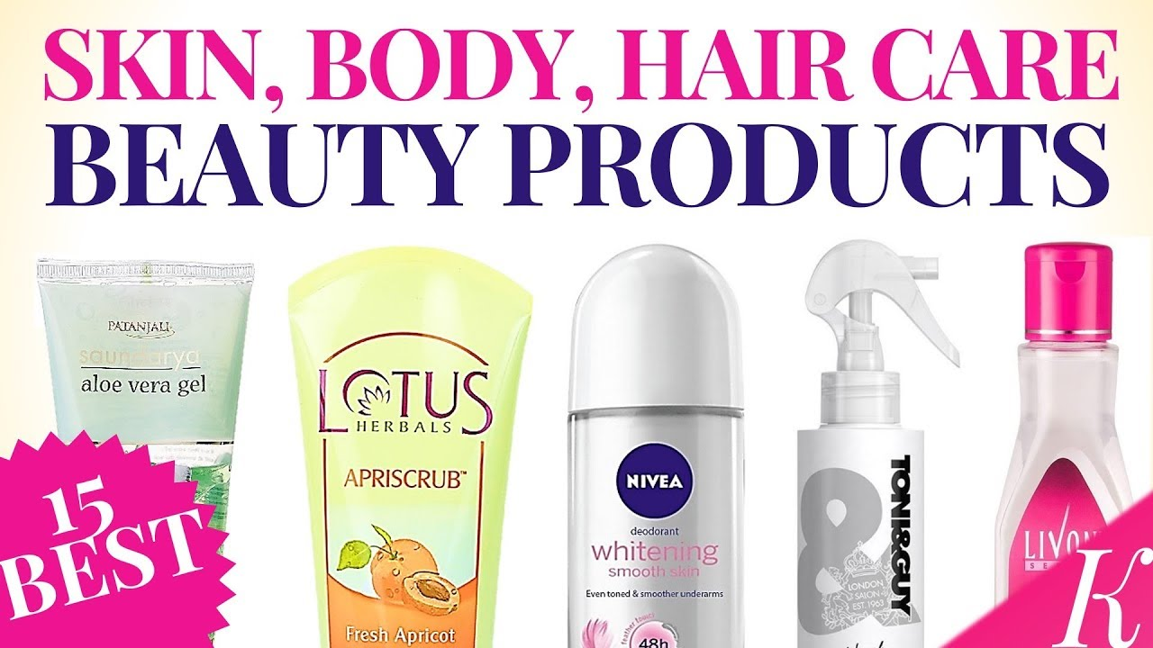 15 Must Have Skin Care Body Care Hair Care Products For Every Girl Specially For Teens Youtube