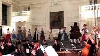 Zelenka Sub olea pacis 2 Menuet - Baroque dances, MLŠSH Valtice 2015