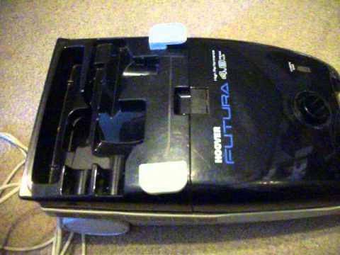 Vintage Hoover Futura 4 8 Canister Vacuum Blue Youtube