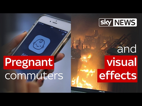 Swipe | Blockbuster visual effects & the app for pregnant commuters