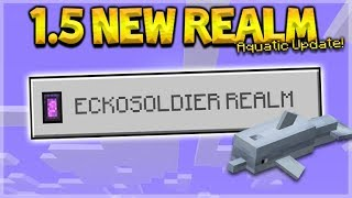 NEW 1.5 AQUATIC REALM - NEW 1.5 Survival Diamond Mining! (Subscriber Realm)