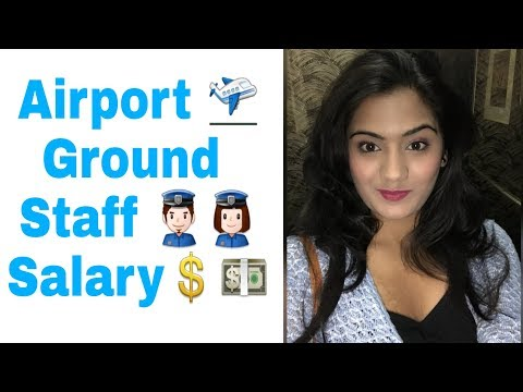 Airport Ground Staff Salary and Facilities in Indian Airlines