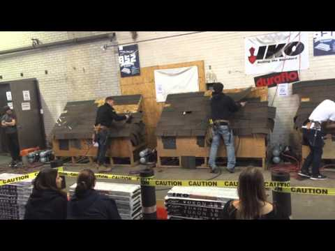 2016 Spar Marathon Roofing Contest Weston Road Location (Vlietstra Footage)