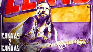 It's Time to Walk With Elias!: WWE Canvas 2 Canvas