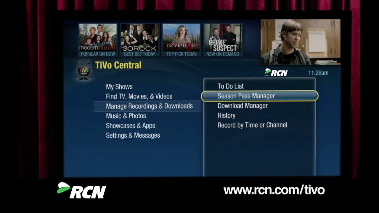 How To: Basic Features and TiVo Central from RCN