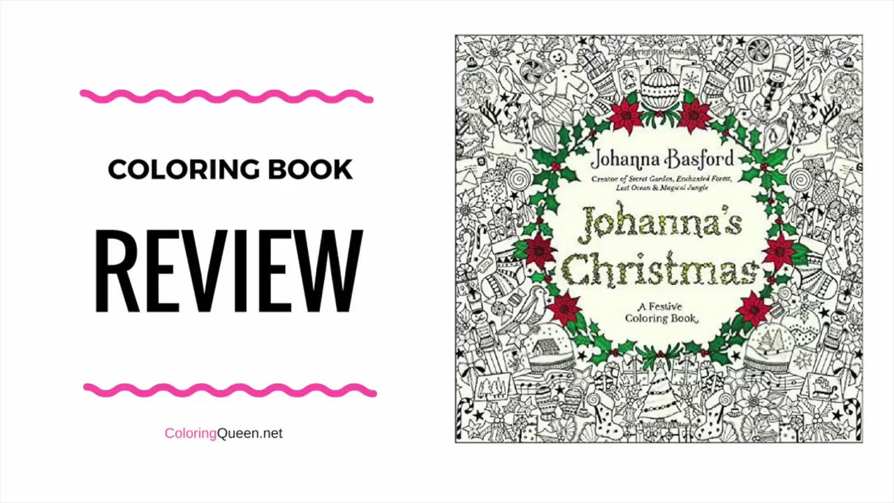 johannas christmas coloring book us edition johanna basford