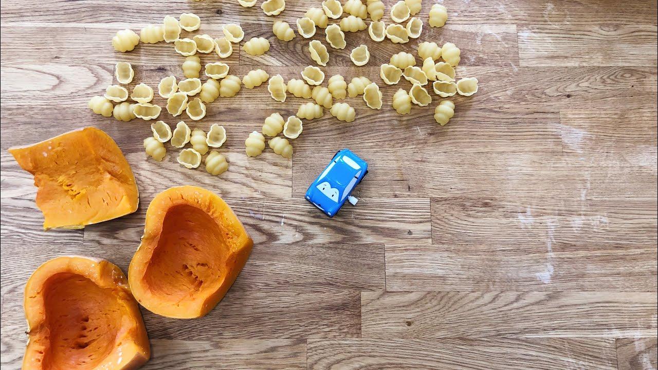 მაკარონი გოგრის სოუსით | ნუცა კოპალიანი