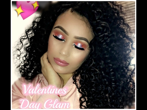 Girly Glam Valentines Day Makeup Tutorial