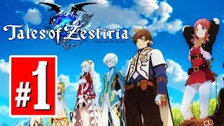Tales Of Zestiria English Walkthrough Gameplay Part 1 [English] 1080p PS4/PC
