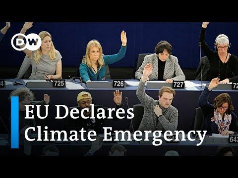 European Parliament declares climate emergency | DW News