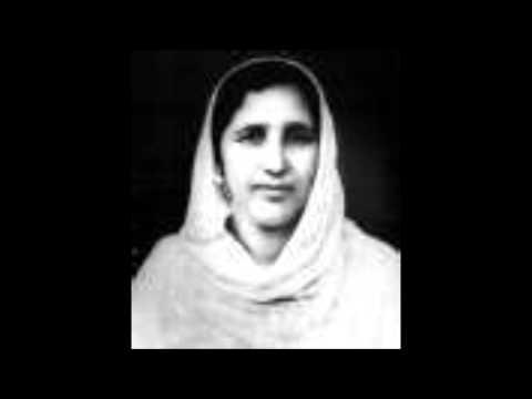 MUBARAK BEGUM   Sanwaria teri yaad main   film Ramu to diwana hai 1960