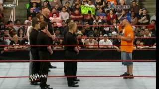 WWE Raw 3/22/10 Batista & John Cena Segment Part 2/2