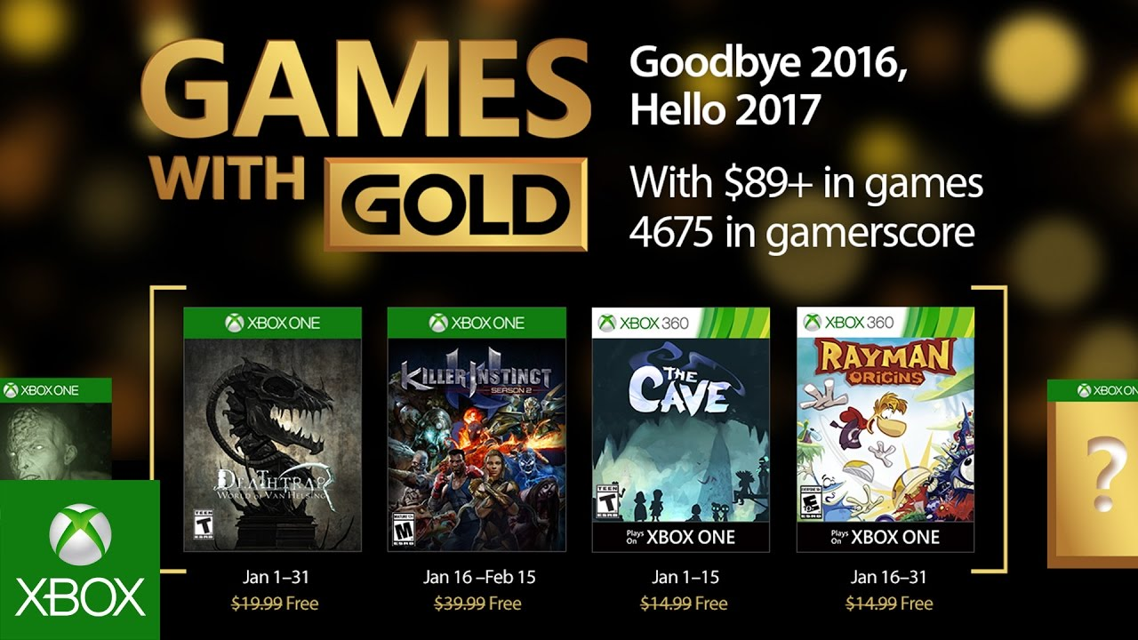 Xbox Games With Gold January 2020.Xbox Games With Gold Starts 2017 With Rayman Origins Killer