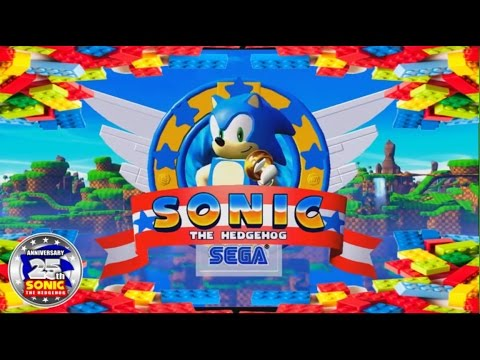 Download Lego- Sonic Pack (2016) 25th Anniversary Medley