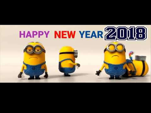 MINIONS HAPPY NEW YEAR 2018