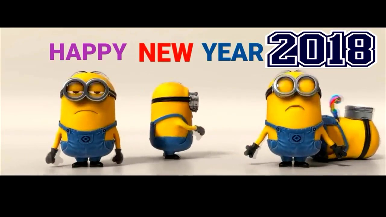 Image of: Chinese Minions Happy New Year 2018 Youtube Minions Happy New Year 2018 Youtube