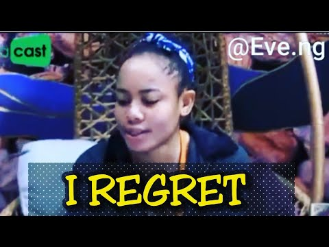 NINA REGRETS HER ACTIONS AND THE WORDS SHE SAID TO MIRACLE -BB NAIJA 2018