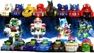 Full Set of Tele-pod Animations - Transformers Angry Birds