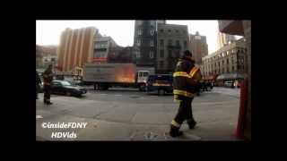 FDNY HD - Ride Along with Engine 54 to a Class III Automatic Fire Alarm