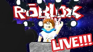 ROBLOX LIVE STREAM!! PLAYING WITH VIEWERS! COME JOIN! THANKSGIVING BREAK! :D