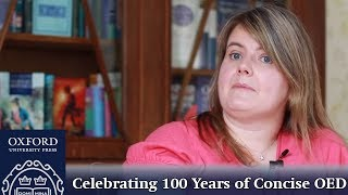 100 Years of the Concise OED