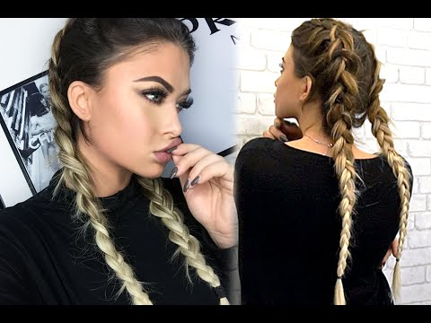 How to double dutch braid with bellami extensions youtube how to double dutch braid with bellami extensions pmusecretfo Choice Image