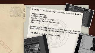 GoldenEye and Perfect Dark ROM patching tutorial (IPS, XDelta - custom levels)