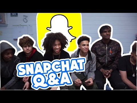 SNAPCHAT Q&A With HARRIS J BROTHER