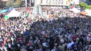 Giant 4:20 Smoke Session at 4/20 Vancouver 2015