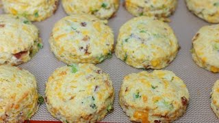 Bacon Cheddar Scones - In The Kitchen With Jonny Episode 177