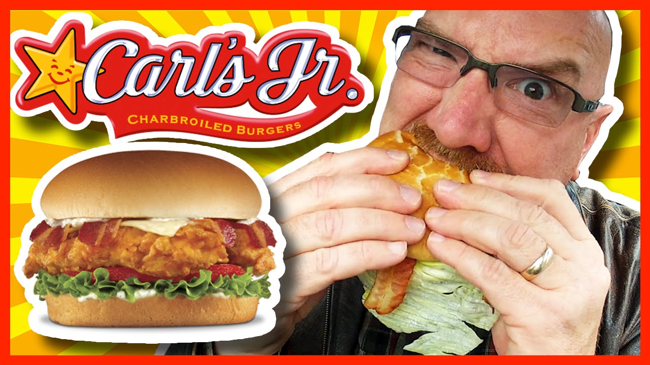 Carl 39 s jr bacon swiss crispy chicken fillet sandwich for Carl s jr fish sandwich