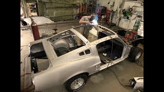 Conversion Mustang Coupe a Fastback
