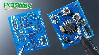 How to make professional SMD PCB for $5 | PCBWay