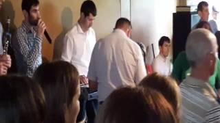 Группа Мурад на лезгинской свадьбе в селе КIирияр (Икра)