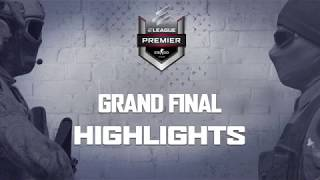 The ELEAGUE CS:GO Premier 2018 - Grand Final highlights