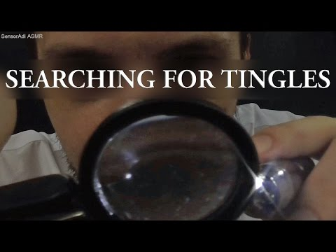 Searching for Tingles ASMR Role Play (3D Binaural Relaxation for Sleep)