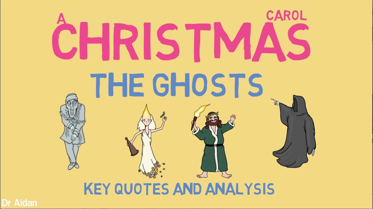 'The Ghosts' in A Christmas Carol (Key Quotes & Analysis) - YouTube