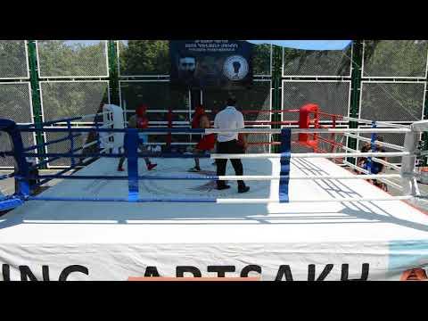 Турнир по боксу в Нагорном Карабахе Нарек Захарян (Мартуни)-Армен Азизян (Чартар Арцах) Дрмбон