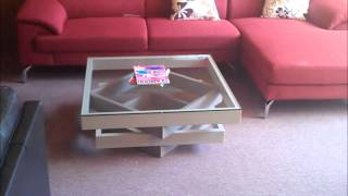 Modern Glass Coffee Table Narita