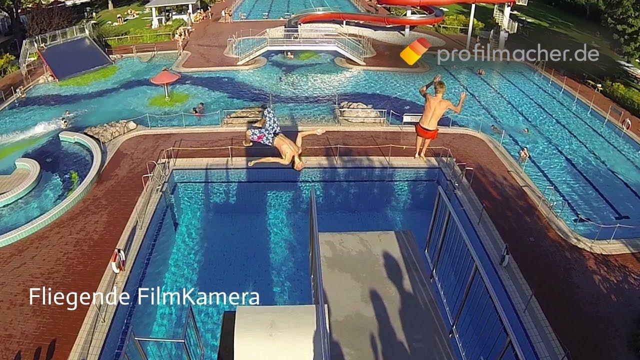 Frankfurt Schwimmbad videoproduktion frankfurt profilmacher quadrokopter multikopter