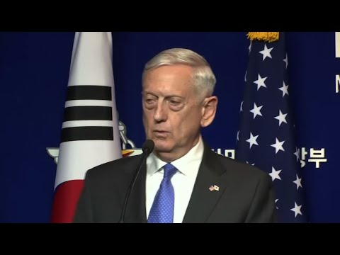 Download Youtube: Mattis: Threat of Attack by N.Korea Accelerating