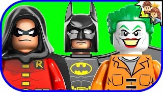 LEGO BATMAN Arkham Asylum Breakout DC Super Heroes 10937 Review