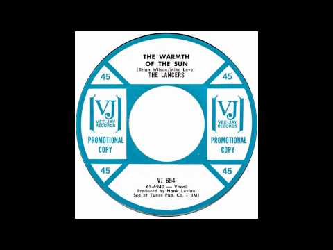 "Lancers – ""Warmth Of The Sun"" (VJ) 1965"