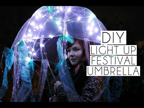 Diy light up jellyfish coachella festival umbrella paige joanna diy light up jellyfish coachella festival umbrella paige joanna solutioingenieria Image collections