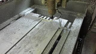 Фрезеровка Д16 на станке с ЧПУ по металлу