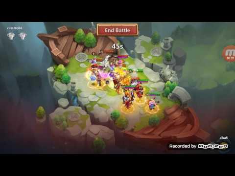 Best Teams In Lost Battlefield Castle Clash